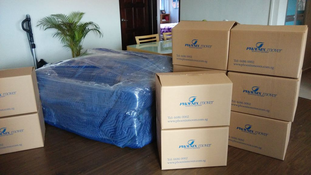 wraping sofa, Movers Singapore